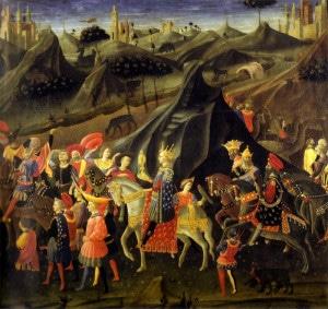 Les Rois mages représentent la fonction sacerdotale de l'ancienne Perse