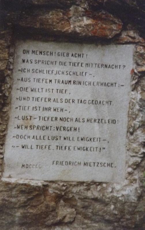 Citation Nietzsche Art : Sils maria à l aube de zarathoustra — iliade institut