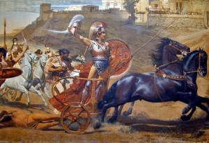 Le triomphe d'Achille devant Troie