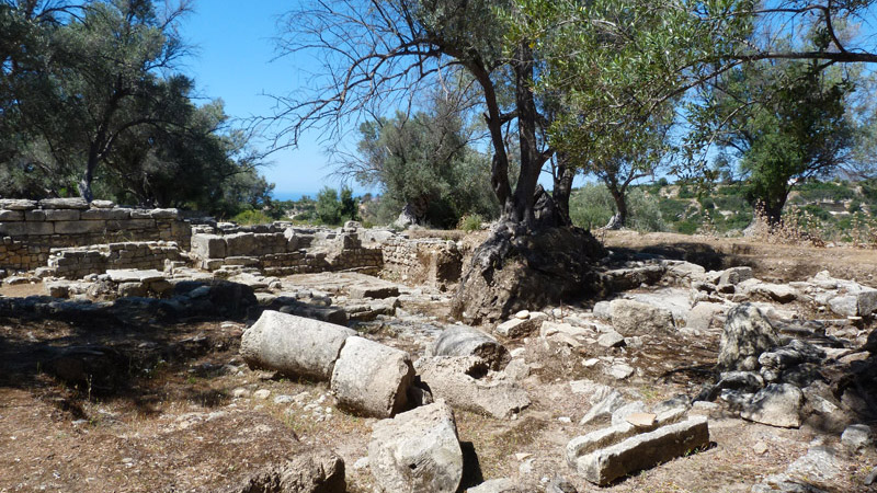 Eleutherne (Archea Eleftherna), un vagabondage archéologique en Crète