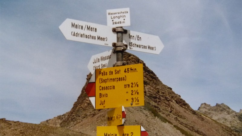 Col du Septimer : de la Suisse à l'Italie, sur les pas des Romains et des voyageurs médiévaux