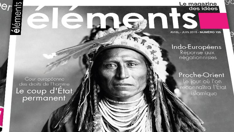 Eléments, avril-juin 2015 : « L'Institut Iliade met à l'honneur l'univers esthétique des Européens »