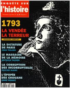Enquête sur l'histoire n°5 – Hiver 1993 - Dossier : 1793, la Vendée, la Terreur