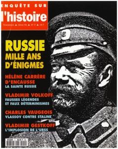 Enquête sur l'histoire n°9 - Hiver 1994 - Dossier : Russie, mille ans d'énigmes