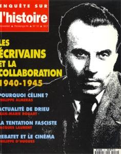 Enquête sur l'histoire n°10 – Printemps 1994 – Dossier : Les écrivains et la Collaboration (1940-1945)
