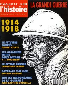 Enquête sur l'histoire n°12 – Automne 1994 – Dossier : 1914-1918, la Grande Guerre.