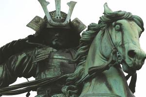 Statue équestre de Kusunoki Masashige, Tokyo. Crédit : EMEL PASTA (cc)