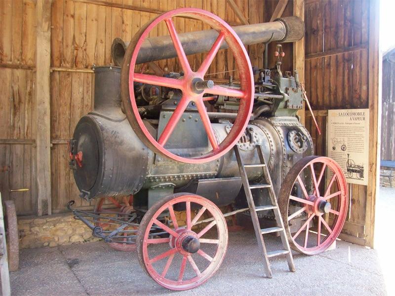 Le Bournat, une locomotive à vapeur