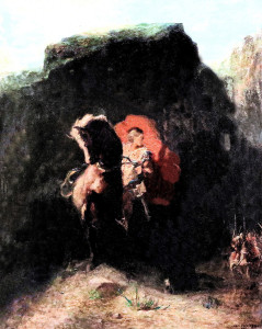 Roland, par Odilon Redon (1862). Crédit : mazanto via Flickr (cc)