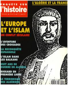 N°15 – Hiver 1996 – Dossier : L'Europe et l'Islam, un conflit séculaire