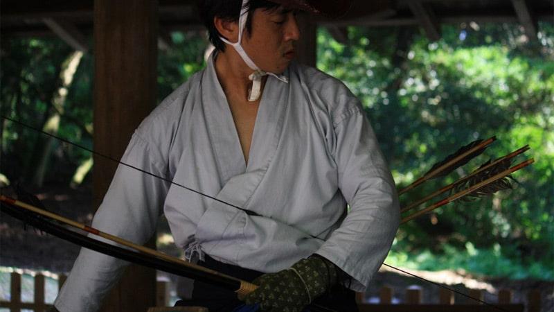 Archerie et arts martiaux japonais