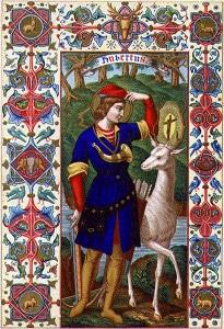 Saint Hubert, patron des grandes chasses…