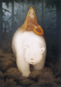 """King Valemon, The White Bear"", par Theodor Kittelsen (1912)"