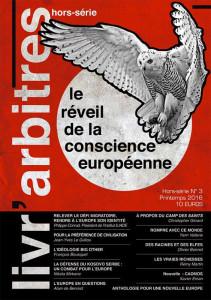 Livr'Arbitres, Hors-série numéro 3 : « Le réveil de la conscience européenne »