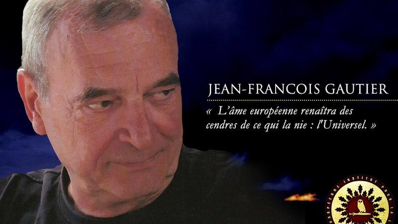 #ColloqueILIADE : entretien de Jean-François Gautier au site Le Rouge et le Noir