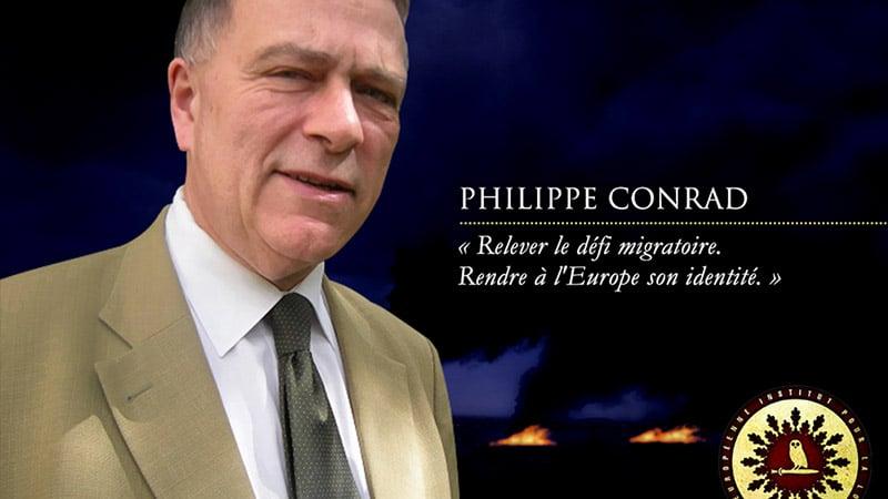 #ColloqueILIADE : entretien de Philippe Conrad au site Le Rouge et le Noir : « Une révolution culturelle pour renouer avec le fil de l'aventure européenne »