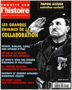 Enquête sur l'histoire n°23 – Octobre-Novembre 1997 - Dossier : Les grandes énigmes de la collaboration