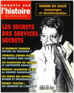 Enquête sur l'histoire n°25 – Mars-Avril 1998 - Dossier : Les secrets des services secrets
