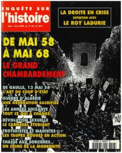 Enquête sur l'histoire n°26 – Mai-Juin 1998 - Dossier : De mai 58 à mai 68, le grand chambardement