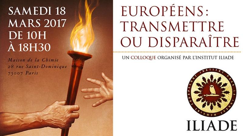 Communiqué de presse du 13 février 2017 : « Européens : transmettre ou disparaître »
