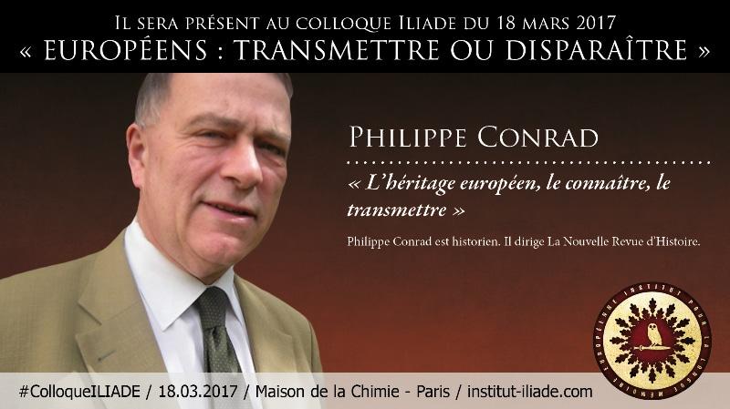 #ColloqueILIADE : L'héritage européen, le connaître le transmettre