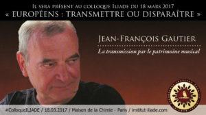 #ColloqueILIADE : La transmission par le patrimoine musical