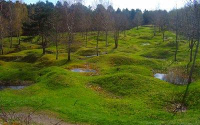 Le champ de bataille de Verdun