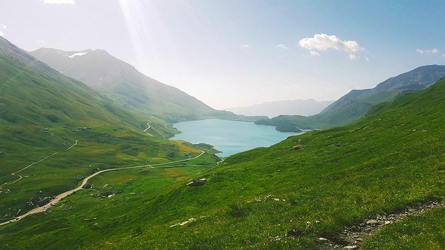 Le lac du Mont-Cenis