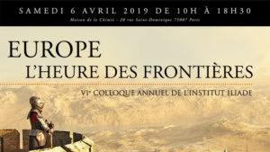 Communiqué de presse du 28 janvier 2019 : « Europe : l'heure des frontières »