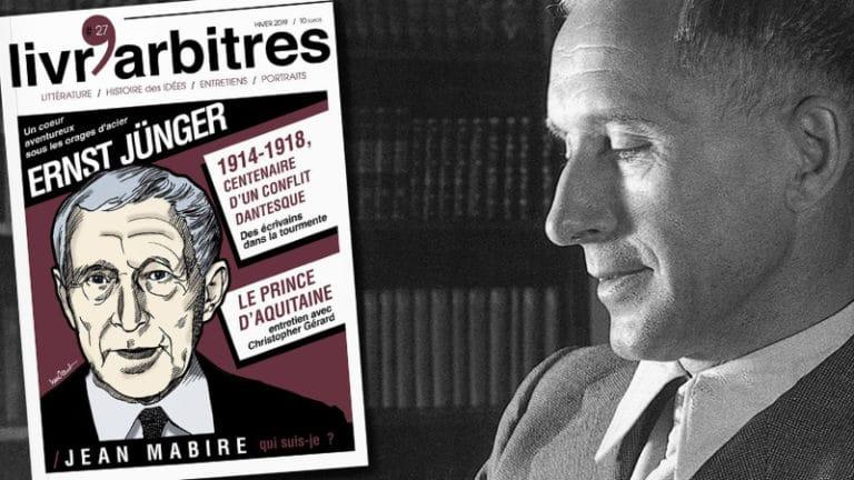 Livr'Arbitres n°27 (hiver 2019) : un hommage à Ernst Jünger
