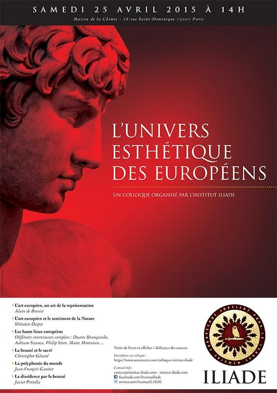 2015 : L'univers esthétique des Européens