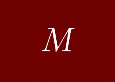 Lettre M