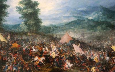 Alexandre à la bataille de Gaugamèles (1er octobre 331 av J.C.)