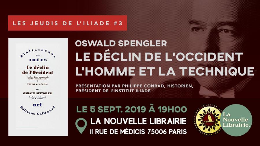 Les Jeudis de l'ILIADE #3 : Oswald Spengler