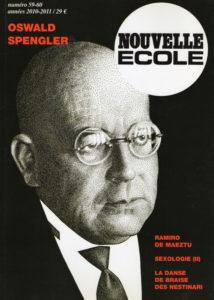Nouvelle Ecole N°59 : Oswald Spengler