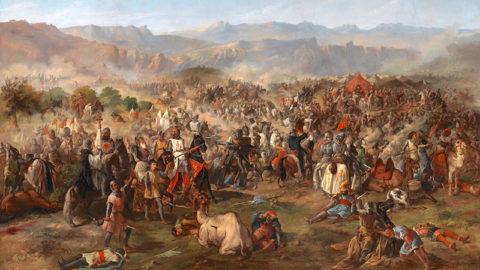 Don Diego Lopez de Haro à la bataille de Las Navas de Tolosa (16 juillet 1212)
