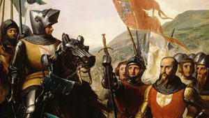 Bertrand du Guesclin à la bataille de Cocherel (16 mai 1364)