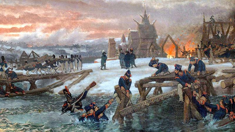 Les pontonniers du général Eblé sur la Bérézina (novembre 1812)