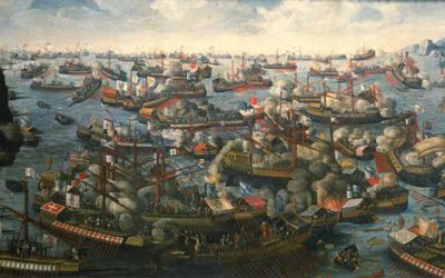 La noblesse d'Europe à la bataille de Lépante (7 octobre 1571)