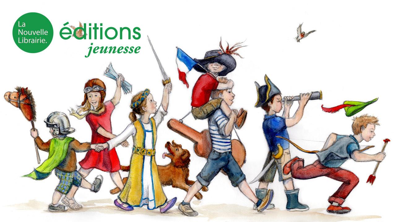 La Nouvelle Librairie lance sa collection jeunesse