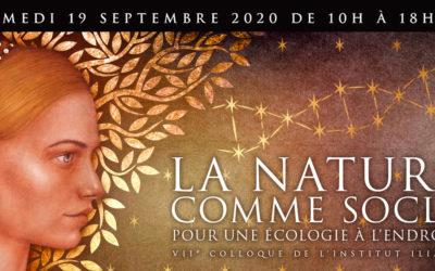 2020 : la nature comme socle, pour une écologie à l'endroit