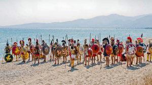 La bataille de Marathon (août ou septembre 490 av. J.C.)
