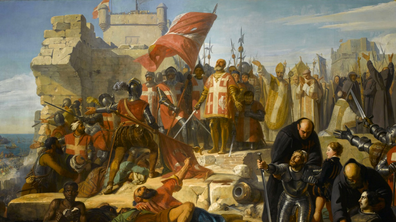 Le «GrandSiège» de Malte(1565) : quand la Chrétienté repousse leTurc