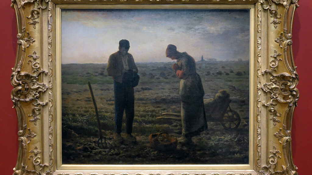 Jean-François Millet, L'Angélus (1857-1859)