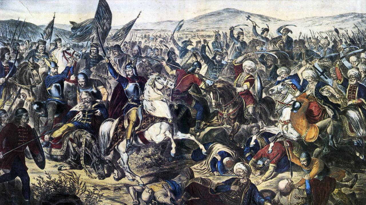Kosovo Polje (1389): le sacrifice de la noblesse serbe au «Champ des Merles»