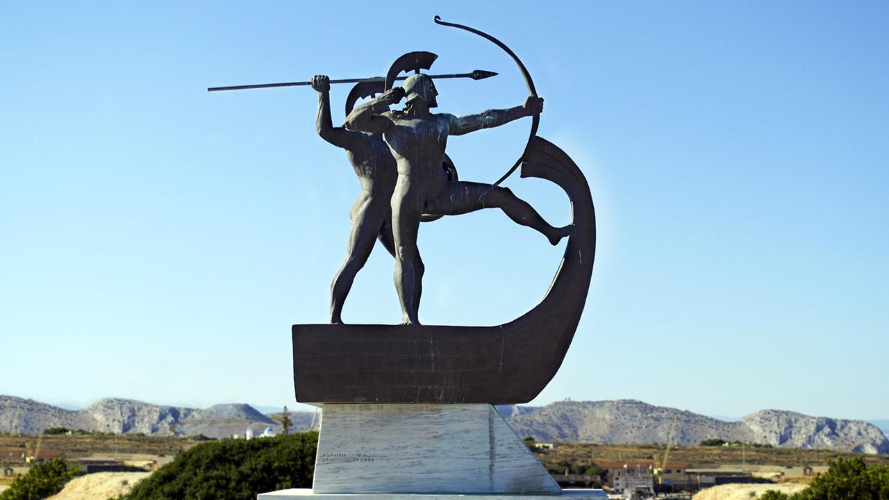 Salamine (480 av. J.-C.): la menace perse tenue en échec