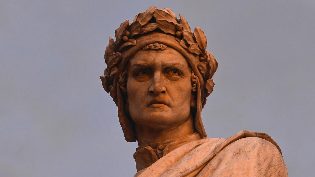 Dante, le poète florentin entre la férule et le sceptre